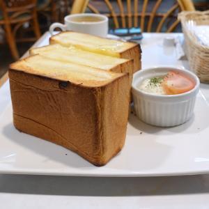 極厚切りトーストモーニング ファンシー小島屋