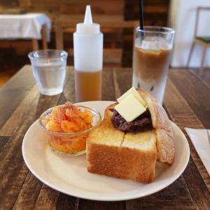 中板橋 1 ROOM COFFEE あんバタートースト