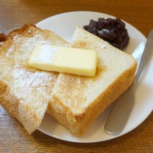 厚切りあんバタートースト 中野新橋 トリクロマティックコーヒー