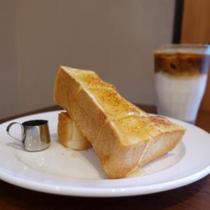 蔵前 コフィノワ ペリカンのパン ハニーバタートースト