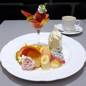 新宿 タカノフルーツパーラー ありがとうプレート