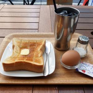 新中野 珈琲や 水出しコーヒーで定番モーニング