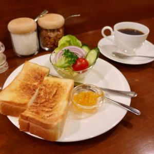 浅草 ミモザ トーストモーニング
