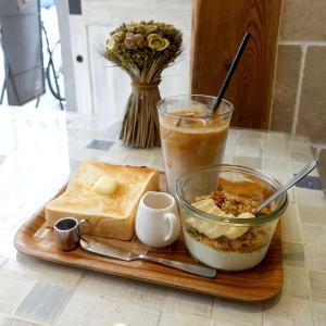 浅草 フェブラリーカフェのあさパンセット