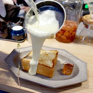 噂の朝食 白いチーズトーストと溶けないクリームソーダ 代々木八幡 プルミエメ