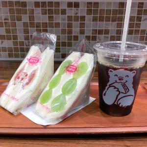 東京駅サンドイッチハウスメルヘンのカフェ