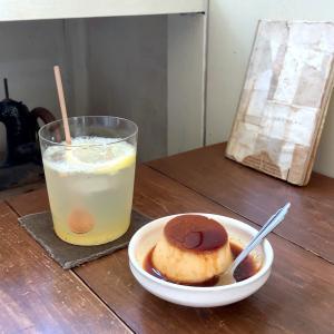 北鎌倉 古民家カフェのプリン 喫茶ミンカ