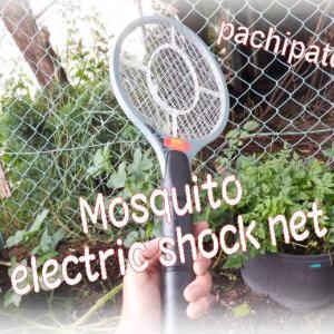 夏の蚊退治はパチパチぱっちん~!⚡おもしろ蚊撃退! Mosquito electric shock net&男の玄米定食
