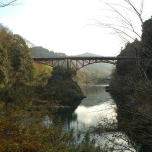 寒狭川橋梁と牛淵橋