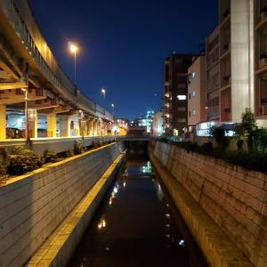 天現寺橋古川