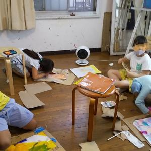 【目黒火曜クラス】コラージュクロッキー②