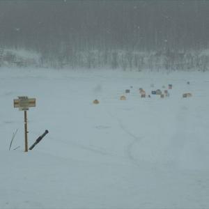 雨のワカサギ釣り@かなやま湖