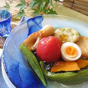 夏バテ防止に!夏野菜たっぷりの冷やしおでんの作り方