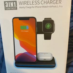 スマホとApple Watchを同時に急速充電!