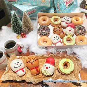今年も可愛いクリスマス限定ドーナツ「クリスピー・クリーム・ドーナツ」早期予約でプレート付き