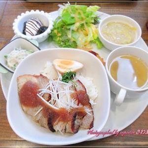 平成の森公園「Smile Café1/2」日替りランチプレート@川島町