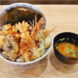 「かつや」新業態の「江戸前天丼 はま田」で豪快揚げたて天丼!全国で2店のみ!