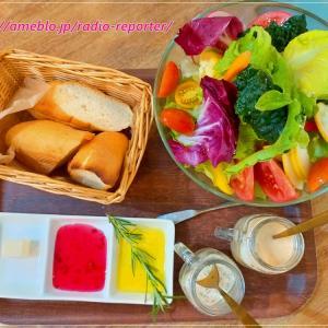 自家農園野菜レストラン「アドマーニ(Adomani)」もりもりサラダとパスタランチ♪