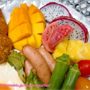 沖縄フルーツでブランチ♪生のグァバのトロピカルな香りにうっとり~