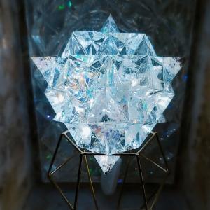 神聖幾何学64テトラヒドロン・オルゴナイト作ります♪
