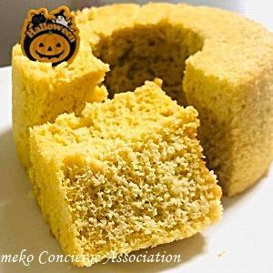 低糖質米粉シフォンケーキ♪