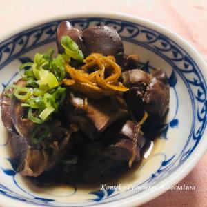 【Line公式アカウント】今週のレシピ「鶏レバーの甘辛煮」を配信いたします♪