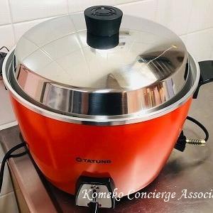 一家に一台!台湾の定番調理器・電鍋で「大根と厚揚げとサバの煮物」