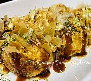 【Line公式】おうちごはんお助けレシピ「米粉のたこ焼き」「大根の旨塩煮」をお届けいたします♪