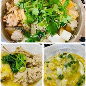 【Line公式】今週のレシピ『お出汁が美味しい!鶏団子鍋』をお届けします♪
