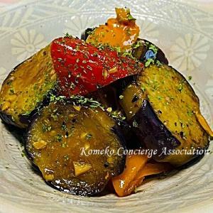 【Line公式】今週のレシピ『茄子とピーマンのマリネ』をお届けします♪