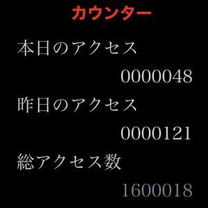 160万アクセス