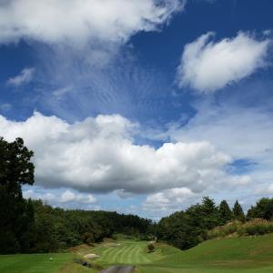 台風一過のゴルフと冬のソナタ