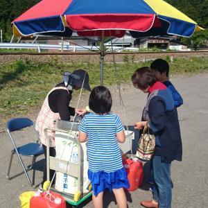 暑い日の秋田の味覚【ババヘラアイス】