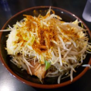 【GOLDEN 5 NOODLE】県南二郎系の雄にて強ゴワな極太麺を啜る!