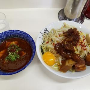 【にぼすけ本店】花椒が爽やかに香る麻婆つけ麺