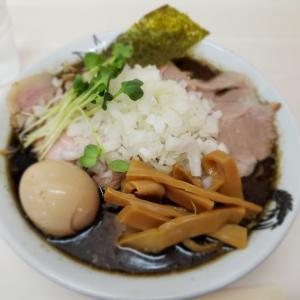 【にぼすけ本店】濃豚BLACKにパツパツ麺