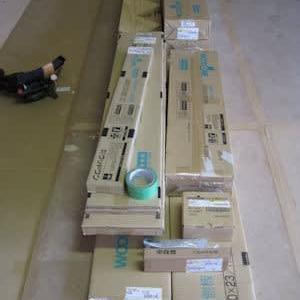 階段、広縁床施工