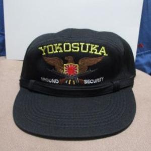 横須賀警備隊の帽子とワッペン