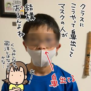 小学生(男子)のマスク事情