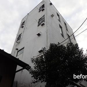 ビルの改修工事 雨漏りに悩む壁面の解消工事とは・・?