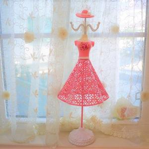 ピンクのドレスが素敵なアクセサリートルソー♪ウェルカムドールとしても☆