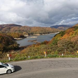羽鳥湖の紅葉とエンゼルフォレストと新そば