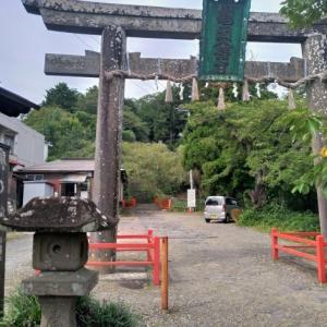 亀岡八幡宮から成田山まで登り、川内三十人町へ