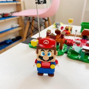 LEGOマリオとLEGOルイージ。