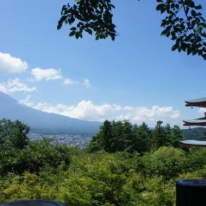 【新倉山浅間公園 富士山を眺める】