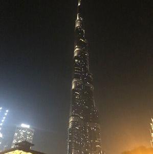 DUBAIの夜もゴージャスだよ♪