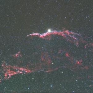 NGC6960 網状星雲