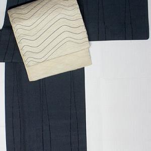 単衣の塩沢紬
