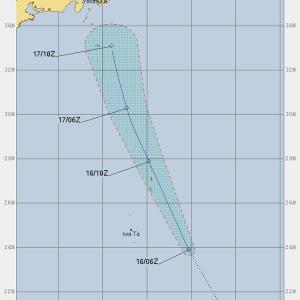台風16号は消えてはいない  ■サンセベリアの館■