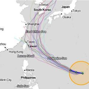 台風12号日本近海へ  ■サンセベリアの館■
